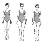 Body shapes x 3