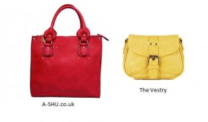 Red-yellow bags