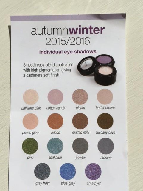 New Eye Shadows for 2015