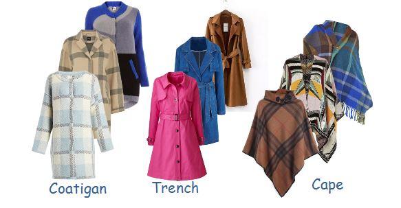 Coats x 3