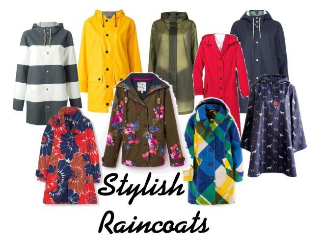 Stylish raincoats