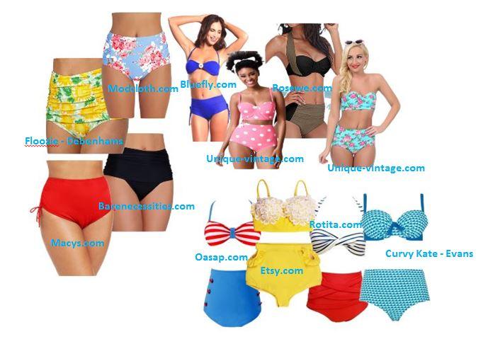 Vintage Inspired Bikini