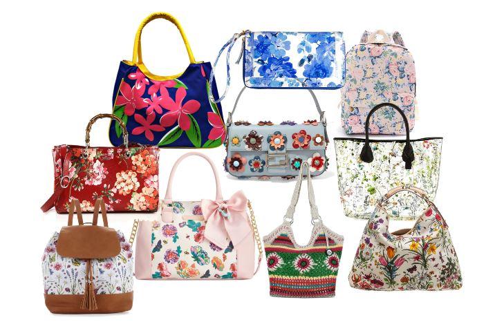 Floral Handbags 2016
