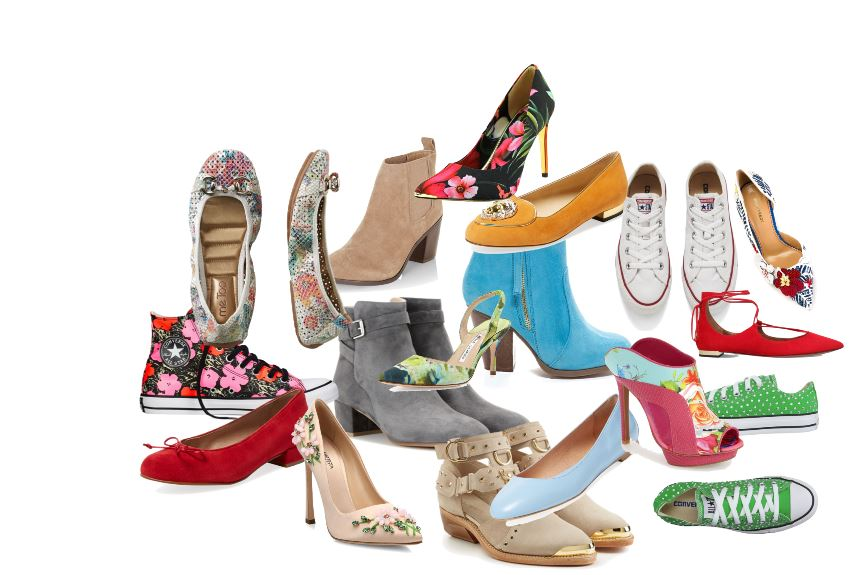 Floral and spring shoes 16
