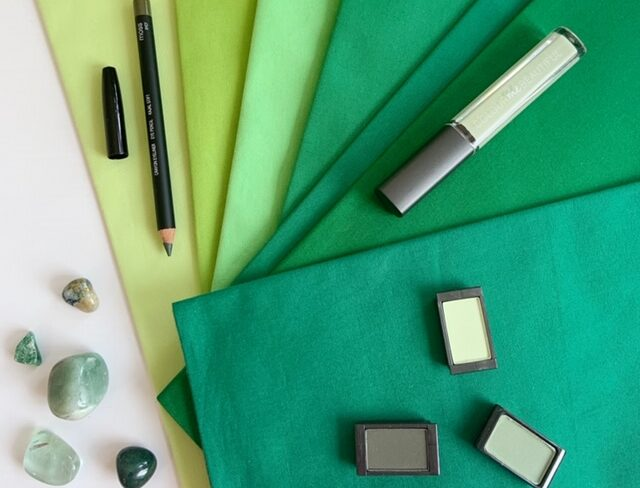 Make up and colour palette