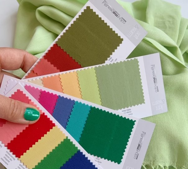 Personal Colour Consultant's Colour Charts